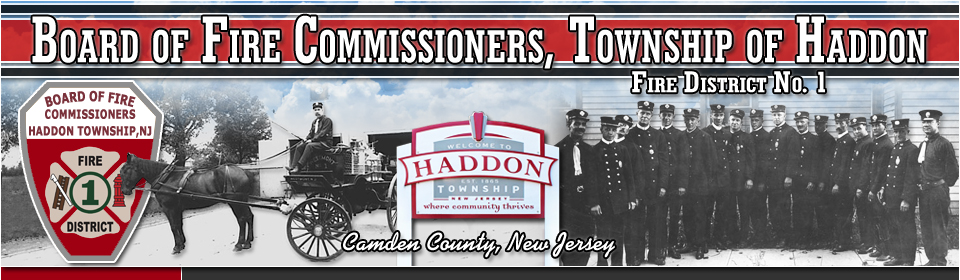 Board of Fire Commissioners Township of Haddon, Fire District #1